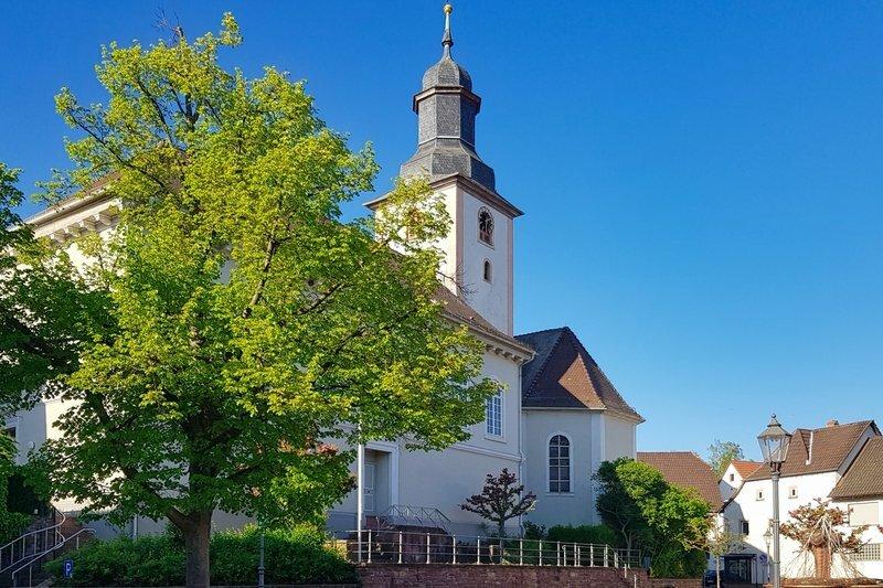 Kirche in Aglasterhausen