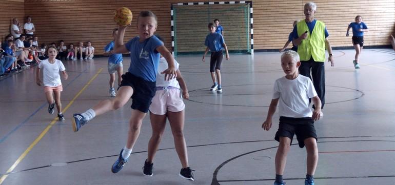 Handballturnier des Pfadfinderbund Süd