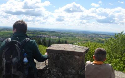 Wanderung im Odenwald