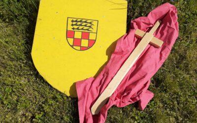 Wir basteln uns unsere eigenen Ritter-Schilde