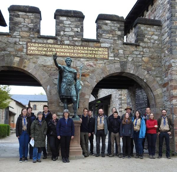 Besuch im Römerkastell Saalburg