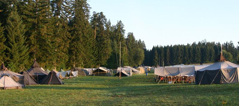 Zeltlagervorbereitungen