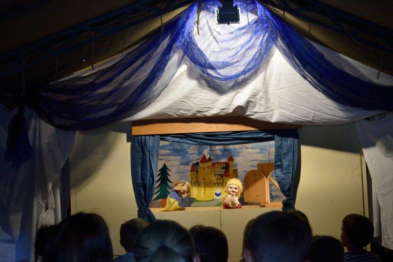 Das Kasperle ist wieder da – auf dem Stadtteilfest in Büchenbronn
