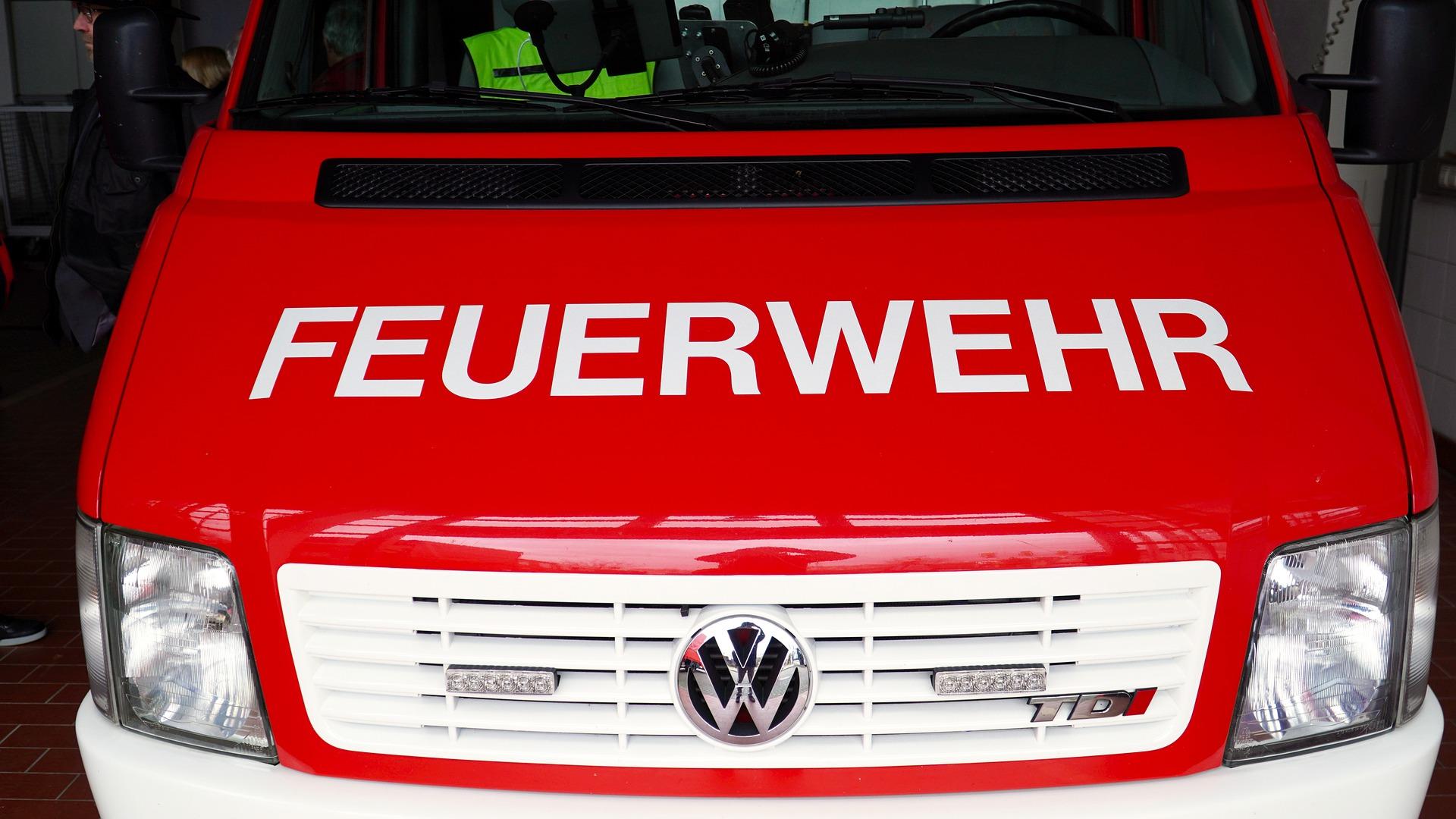 Besuch bei der Feuerwehr Ettlingen