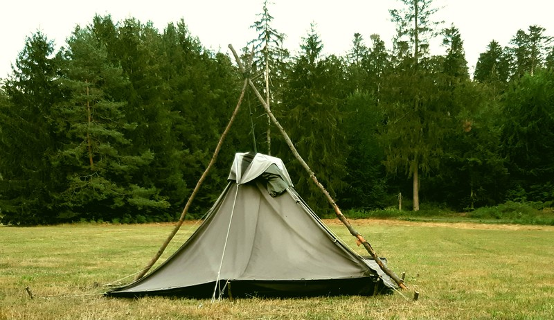 Zeltlager in den Sommerferien